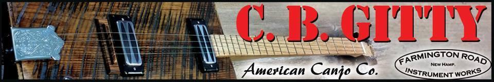 C B Gitty Cigar Box Guitars and Gear