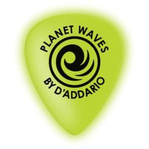 D'Addario 1CCG4-10 Cellu-Glow Guitar Picks, Medium  - (10-Pack)