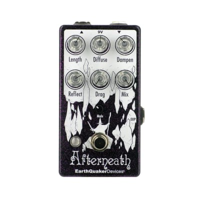 EarthQuaker Devices Afterneath V3 Reverberation Machine, Purple Sparkle (Gear Hero Exclusive)