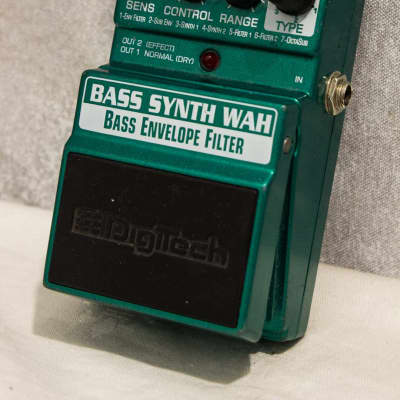 Digitech X-Series Bass Synth Wah Envelope Filter Pedal for sale