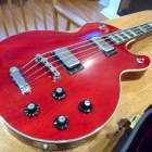 Hagstrom Swede Bass Guitar Electric Original Case 1970s 1971-1976 Sweden Cherry Red Vintage 70's image