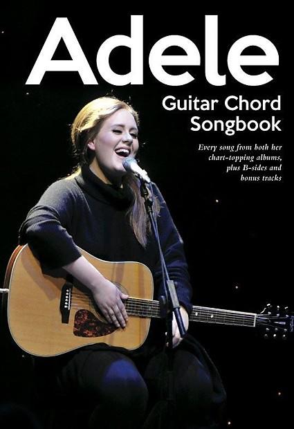 Guitar Chord Songbook: Adele | Ferris\'s Gear Bazaar | Reverb