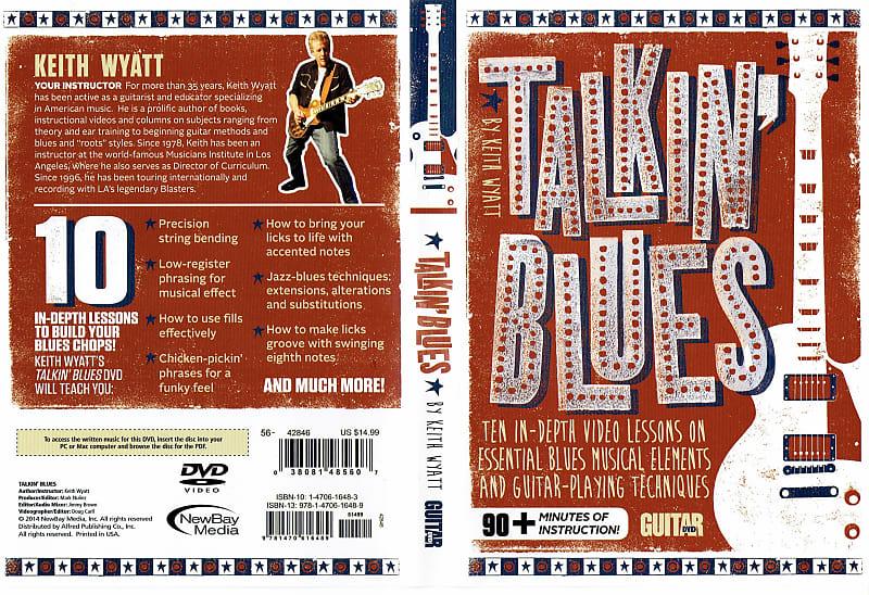 Guitar World Keith Wyatt Talkin Blues DVD - Learn Guitar