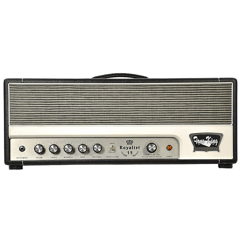 tone king royalist 15 15 watt guitar amp head reverb. Black Bedroom Furniture Sets. Home Design Ideas
