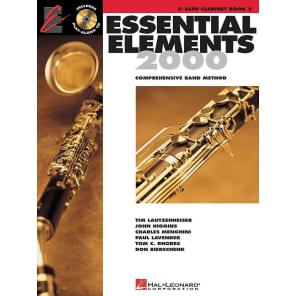 Hal Leonard Essential Elements 2000 - Book 2: Eb Alto Clarinet