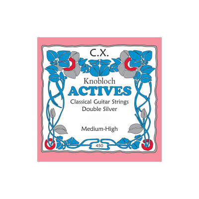 Knobloch Actives CX 4-D Medium-High Tension Classical Single String