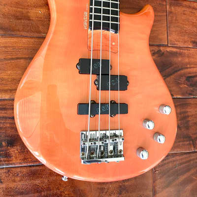 ESP Horizon Bass Custom Shop 1987 Solid Flamed Maple (serial #001 - w/ hard shell case) for sale