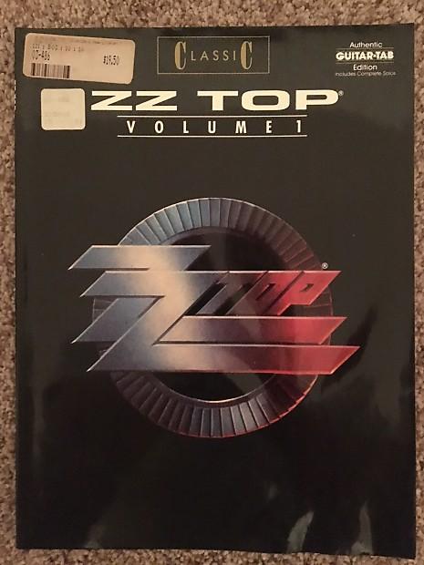 Zz Top Volume 1 Guitar Tab Tablature Book Reverb