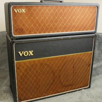 "Vox AC-30 Super Twin 3-Channel 30-Watt 2x12"" Piggyback Guitar Amp 1962 - 1966"