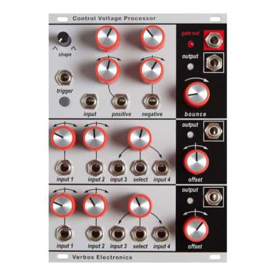 Verbos Electronics Control Voltage Processor Mixer + Slew  [Three Wave Music]