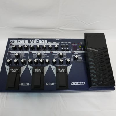 Boss ME-50B Bass Multiple Effects Floorboard for Electric Bass Guitar Filter, Drive, Synth Delay + for sale