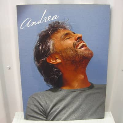 Andrea Bocelli Andrea Piano Vocal Sheet Music Song Book Songbook