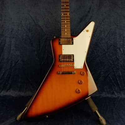 Gibson 58 Custom Shop Reissue Explorer Sunburst Pre-owned for sale