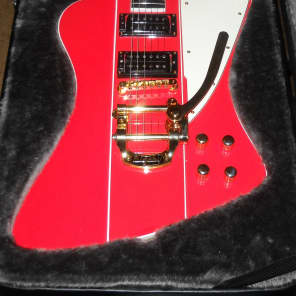 David Vogele /Scarecrow Guitars  Custom Firebird 2015 red for sale