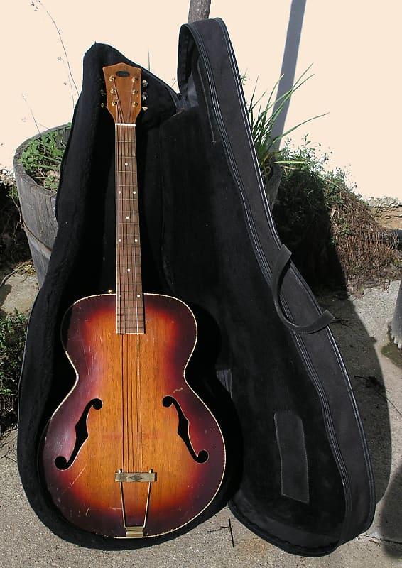 74225c572bb Description; Shop Policies. This is a Vintage 50s Penn Acoustic Archtop  Guitar ...