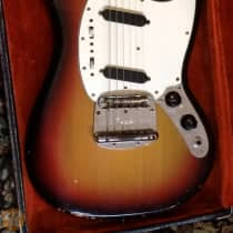 Fender Mustang Early 1970s Sunburst image