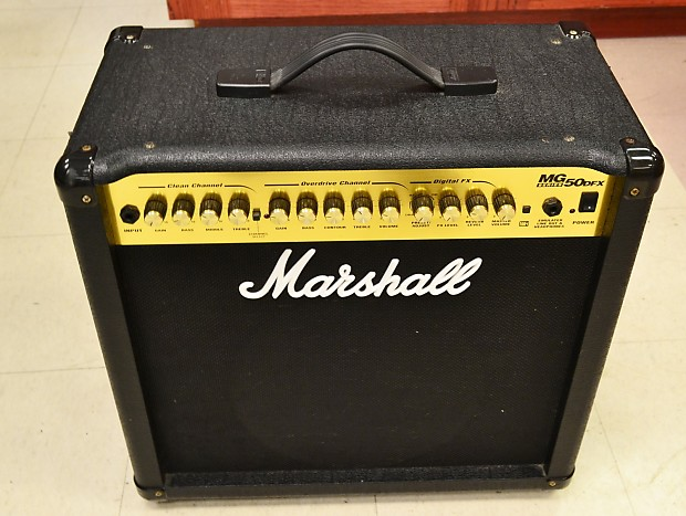 Nieuw Marshall MG50DFX Guitar Amplifier Amp 50W 1x12