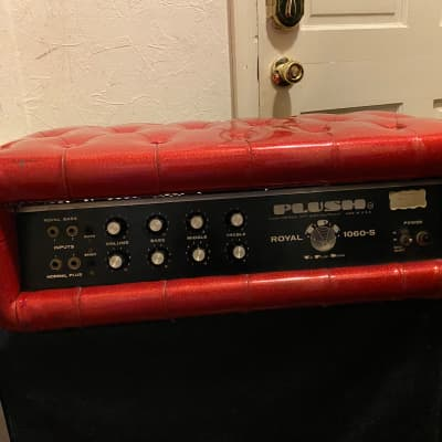 Plush Royal. 1060s Amplifier Red for sale