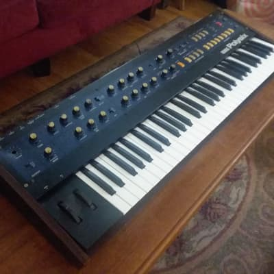 Korg PolySix 80's Analog Synth (Parts or Repair)