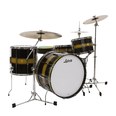 """Ludwig L6143LX Club Date USA Pro Beat Outfit 13 / 16 / 24"""" 3pc Shell Pack"""