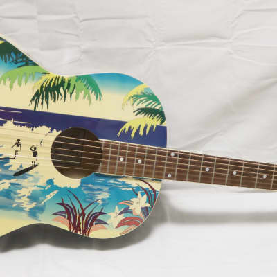 Recording King Hawaiian RG-100H Special Edition Art Acoustic Guitar for sale