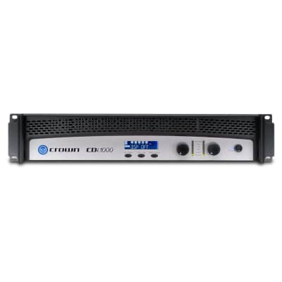 Crown Audio CDi 1000 Two-Channel Commercial Amplifier (500W/Channel at 4 Ohms, 70V/140V) for sale