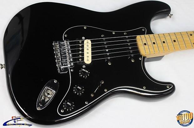 Squier 70s Strat : 1984 squier 39 70s stratocaster hss black mij japan reverb ~ Russianpoet.info Haus und Dekorationen