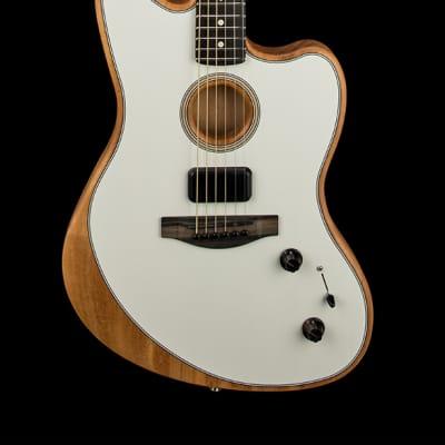 Fender American Acoustasonic Jazzmaster - Arctic White #7866A