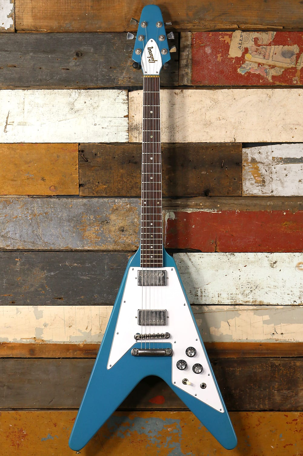 Buy New Used And Vintage Guitars Amps Synth Modules Effects Electric Guitar String Diagram Ebay Gig Bag 1981 Gibson Flying V Blue Refin