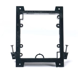 Elite Core Audio Q-1-UMB-NC 2 Gang Low Voltage Universal Mounting Bracket for New Construction