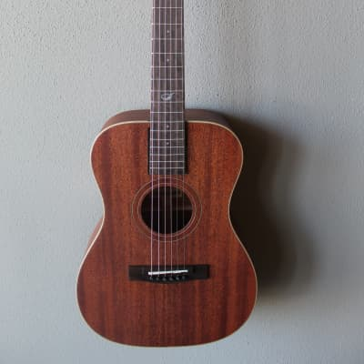 Brand New Journey OF312 Overhead Solid Mahogany Acoustic/Electric Travel Guitar for sale