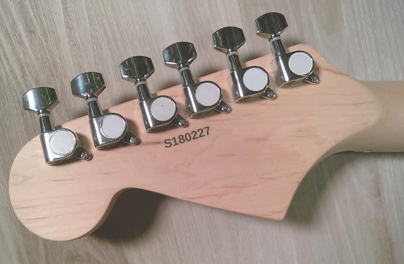 "Hot Z-Mule Pickups ® Elite ®  Strat Pro Style Guitar /"" Purple Rain /"" Mdl-PRST"