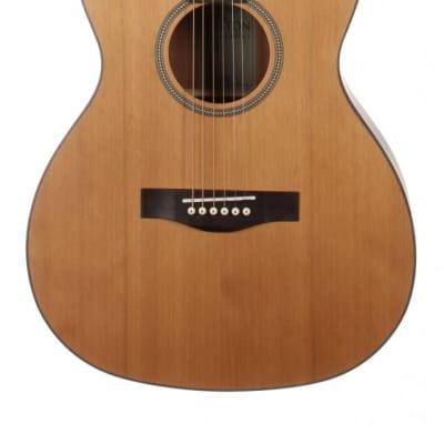 Teton STG105NT Grand Concert Guitar ONLY, Solid Cedar Top, Mahogany Veneer Back and Sides