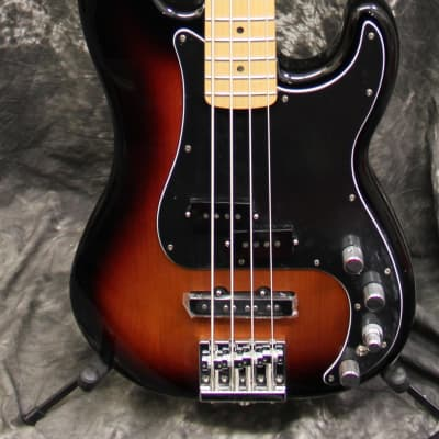 2018 Fender Deluxe Active Precision Bass Special Sunburst Electric Bass Guitar w/Gigbag for sale