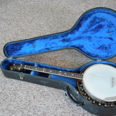 Slingerland Tenor Banjo May Bell Late 1930's brown for sale