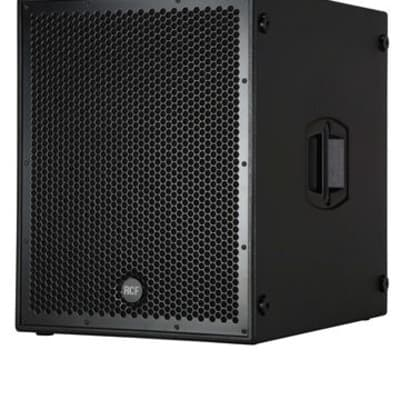 """RCF Sub-8004AS 2500 Watt Active 18"""" Subwoofer With 4"""" Voice Coil"""