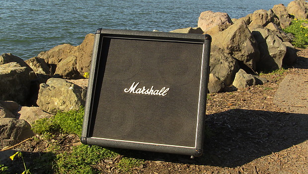 1980's Marshall 4x10 Guitar Cabinet w/Celestion | Reverb