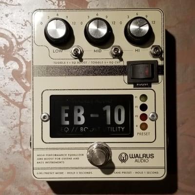 Walrus Audio EB-10 Preamp, EQ and Boost (Cream) for sale