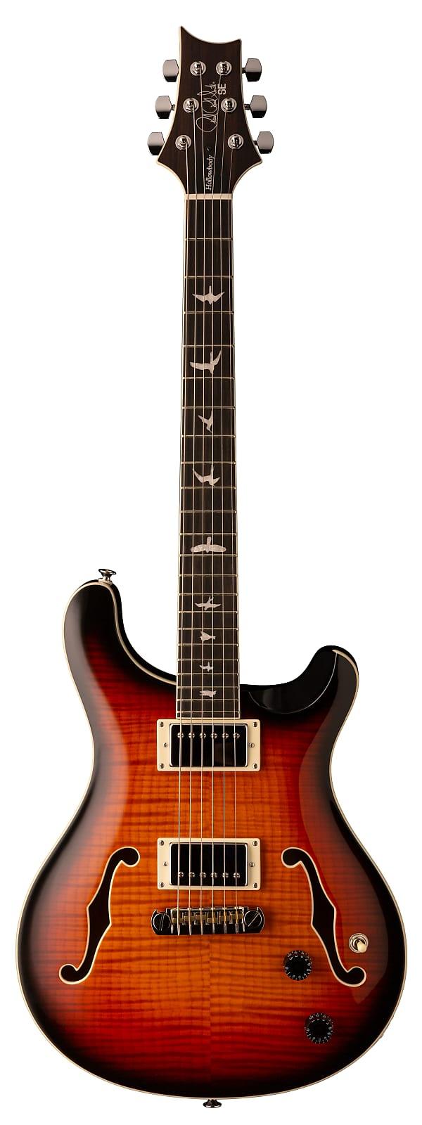Paul Reed Smith PRS SE Hollowbody II Electric Guitar Tricolor Sunburst w/ Hards