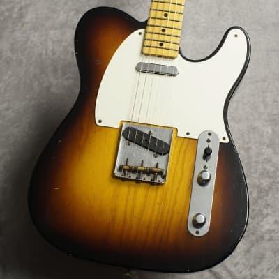 Fender Custom Shop '1954 Telecaster Journeyman Relic (2016'USED) - 2 Tone Sunburst- for sale