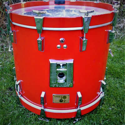 """Sonor  """"Signature""""  BassDrum  22""""x18"""" Made in Germany  RARE"""