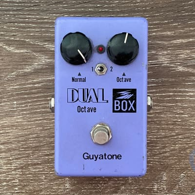Guyatone PS-106, Dual Box, Octave, Made In Japan, 1979, Vintage Guitar Effect Pedal for sale