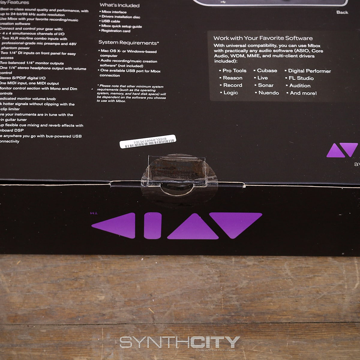 Avid MBOX 4x4 w/ Box (Sealed)