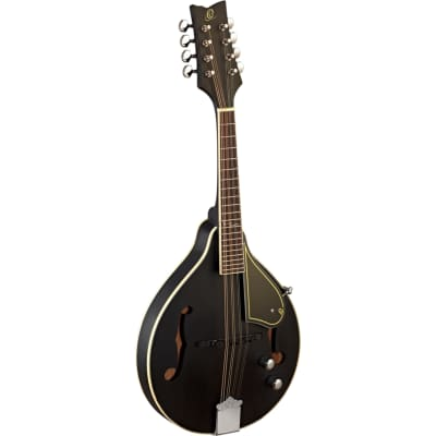 Ortega A-style Series RMAE40SBK Mandolin with Gig Bag for sale