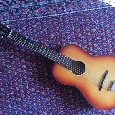 KLIRA Triumphator - Vintage Blues Folk Parlour Guitar  ca. 1961 Sunburst for sale