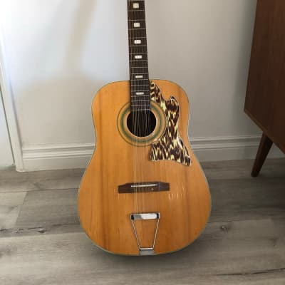 Kingston 12 String Acoustic  1960-70'sj Clear in  Los Angeles for sale