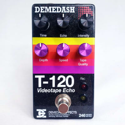Demedash Effects T-120 Videotape Echo V2