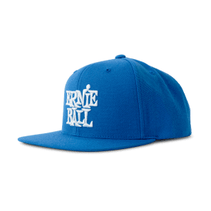 Ernie Ball 4156 BLUE WITH WHITE ERNIE BALL LOGO HAT - Ships FREE Lower 48 States! for sale