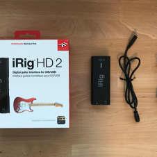 IK Multimedia iRig HD 2 Mobile Guitar Interface
