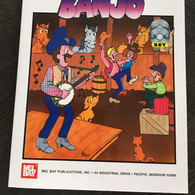 You Can Teach Yourself Banjo with CD & DVD Mel Bay Presents Sheet Music Song Book